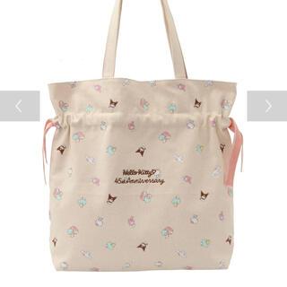 メゾンドフルール(Maison de FLEUR)の【限定品】サンリオキャラクターズアニバーサリーバッグ ピンク(トートバッグ)
