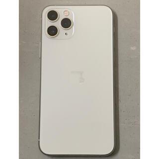 アイフォーン(iPhone)の【中古美品】iPhone11Pro 256GB  シルバー本体のみ SIMフリー(スマートフォン本体)