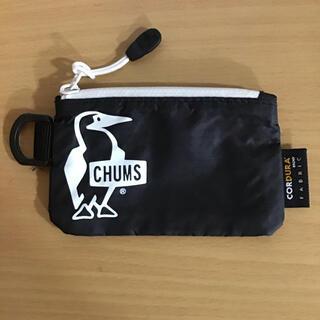 チャムス(CHUMS)の【未使用】CHUMS チャムス トレックコインケース ブラック(コインケース)