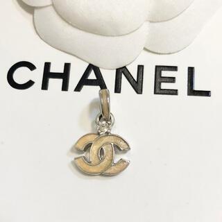 シャネル(CHANEL)の正規品 シャネル ペンダント トップ ココマーク 一粒石 シルバー ネックレス(ネックレス)