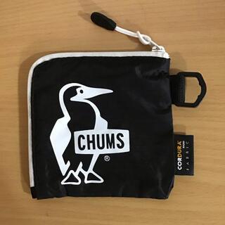 チャムス(CHUMS)の【未使用】CHUMS チャムス トレックウォレット ブラック(コインケース)