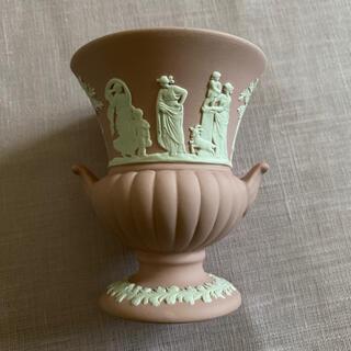 WEDGWOOD - ウェッジウッド ジャスパーピンク 花瓶