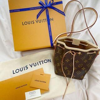 LOUIS VUITTON - LOUIS VUITTON ナノ・ノエ 美品