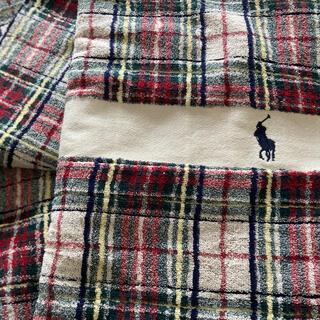 ポロラルフローレン(POLO RALPH LAUREN)のポロラルフローレン タオルケット シングル(毛布)