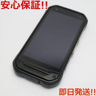 キョウセラ(京セラ)の美品 au TORQUE G03 ブラック 白ロム(スマートフォン本体)