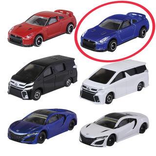 タカラトミーアーツ(T-ARTS)のトミカJr.コレクション4 [日産GT-R(メタリックブルー) ](ミニカー)
