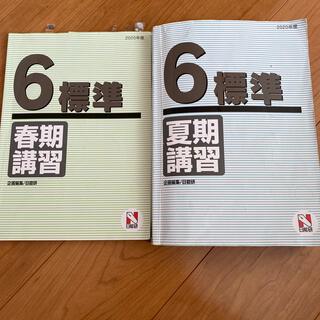 日能研6年生標準春期講習、夏期講習✩2020年度(語学/参考書)