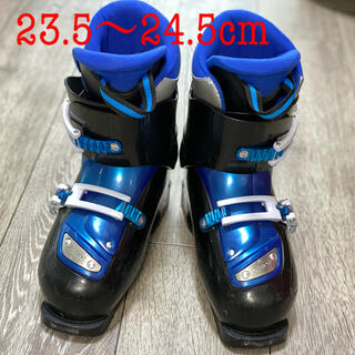 値下げ スキーブーツ キッズ 男子サイズ23.5〜24.5  小学生 スキー (ブーツ)