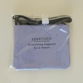 ラブトキシック(lovetoxic)のラブトキシック 新品 サコッシュ(ポシェット)