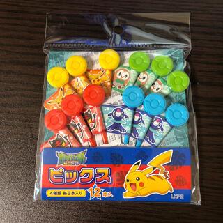 新品★ ポケットモンスター  サン&ムーン ピック 12本入り (4種×3本)(弁当用品)