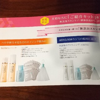 FANCL - 纏め購入で100円にします!FANCL お試し セット