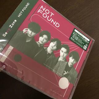 新品 SexyZone not found  初回限定盤A