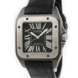Cartier - カルティエ  サントス100 カーボン LM W2020010 自動巻き