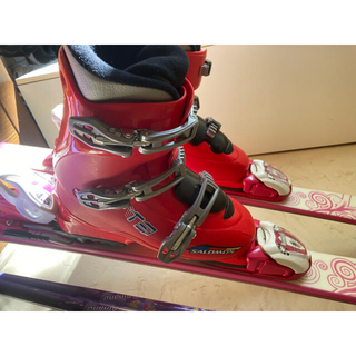 サロモン(SALOMON)の2/23限定割引(3点同時購入)子供用 スキーブーツ  23/23.5  (ブーツ)