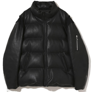 UNDERCOVER - undercover × fragment レザーダウン size2