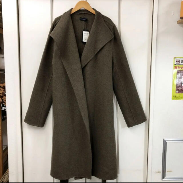 JOSEPH(ジョゼフ)の新品!JOSEPH DOUBLE FACE CASHMEPE LIMA コート レディースのジャケット/アウター(ロングコート)の商品写真