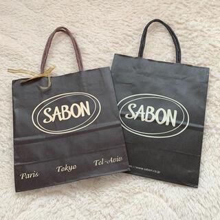 SABON - SABON ショッパー ショップ袋 ポイント消化 クーポン利用