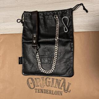 TENDERLOIN - ★限定出品★ TENDERLOIN ウォレットチェーン ブラック 黒 シルバー