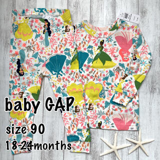 babyGAP - 〓baby  GAP〓新品 Disneyプリンセス パジャマ  90㎝