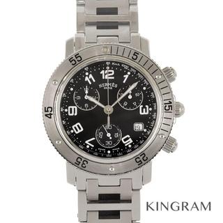 Hermes - エルメス クリッパー ダイバー クロノグラフ  メンズ腕時計
