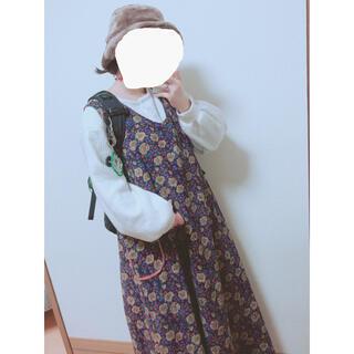 merlot - メルロー ジャンパースカート