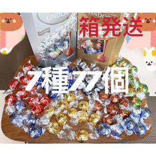 リンツ(Lindt)のリンツリンドールチョコレート 7種77個(菓子/デザート)
