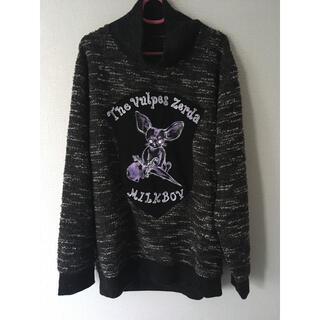 ミルクボーイ(MILKBOY)のmilkboy fennec sweats スウェット フェネック セーター(ニット/セーター)