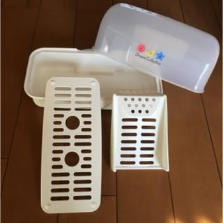 ニシマツヤ(西松屋)のLEC. 電子レンジ用 哺乳瓶消毒セット(哺乳ビン用消毒/衛生ケース)