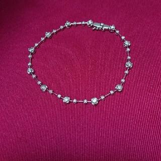 ジュエリーツツミ(JEWELRY TSUTSUMI)のK14WGダイヤモンドブレスレット  ジュエリーツツミ(ブレスレット/バングル)
