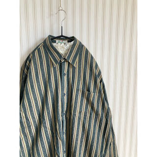 サンタモニカ(Santa Monica)の古着 ビンテージ  総柄シャツ 綿シャツ レトロ ヴィンテージ   (シャツ)