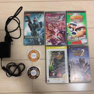 プレイステーション(PlayStation)のPSP専用ソフト&充電器セット(携帯用ゲームソフト)
