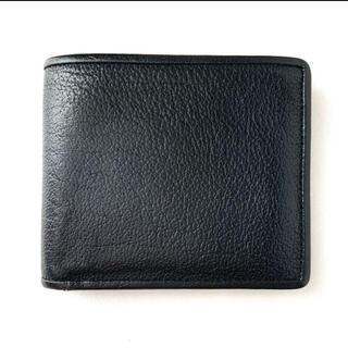ツチヤカバンセイゾウジョ(土屋鞄製造所)の土屋鞄製造所 アルマス フレームスタンダードパース 二つ折り財布 ブラック(折り財布)