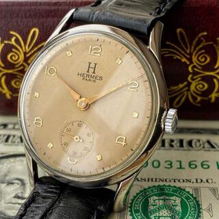 Hermes - OH済【一目惚れ】HERMES ★ エルメス 金針 ビンテージ 手巻き 腕時計