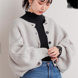 ナチュラルクチュール(natural couture)のショート丈2WAYポンチョ(カーディガン)