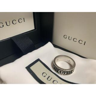 Gucci - GUCCI ダブルG シルバーリング メンズ 16号 正規品