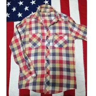 HOLLYWOOD RANCH MARKET - ハリラン チェックシャツ