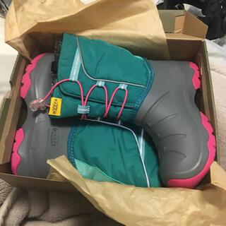 キーン(KEEN)のスノーブーツ 長靴 keen 22センチ 未使用(ブーツ)