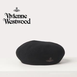 Vivienne Westwood ORB刺繍 バスクベレー帽