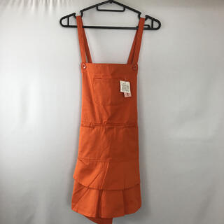 【LIFE STAGE】【新品セール品】エプロン ※カラー:オレンジ色(その他)