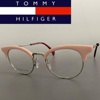 TOMMY HILFIGER - ★Tommy Hilfiger★トミーヒルフィガー ピンク ゴールド メガネ