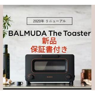 バルミューダ(BALMUDA)の【最新モデル】バルミューダ トースター 黒 BALMUDA  ブラック(調理機器)
