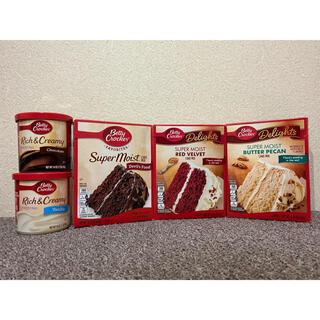 ベティークロッカー ミックスケーキセット フロスティング付き 大人気 (菓子/デザート)