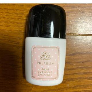 ニジュウヨンエイチコスメ(24h cosme)の24hコスメ プレミアムブライトUVエッセンス ピンク(化粧下地)