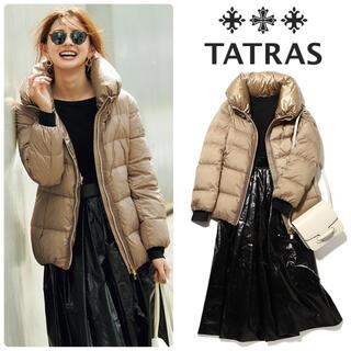 TATRAS - 21SS新作⭐︎雑誌掲載 タトラス BRISA ダウン ベージュ 新品 03
