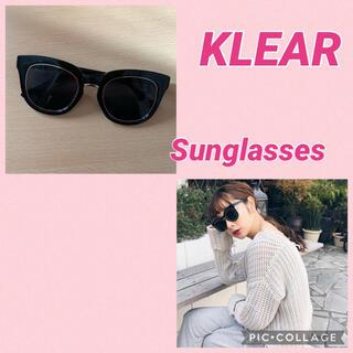 Ameri VINTAGE - 【KLEAR】ブラックサングラス