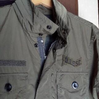 DIESEL - DIESEL ミリタリージャケット。着用回数は少なく綺麗な状態です。