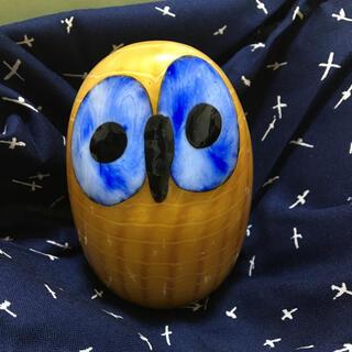 イッタラ(iittala)のイッタラ*Birds by Toikka Northern Owl Yellow(置物)