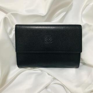 LOEWE - ロエベ 型押し レザー 折財布