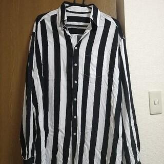 エルエイチピー(LHP)のLHP WHITELAND オーバーサイズストライプシャツ(シャツ)