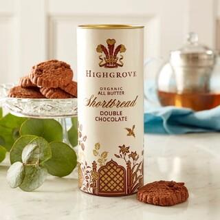 ハイグローヴ オーガニックダブルチョコレートショートブレッド(菓子/デザート)